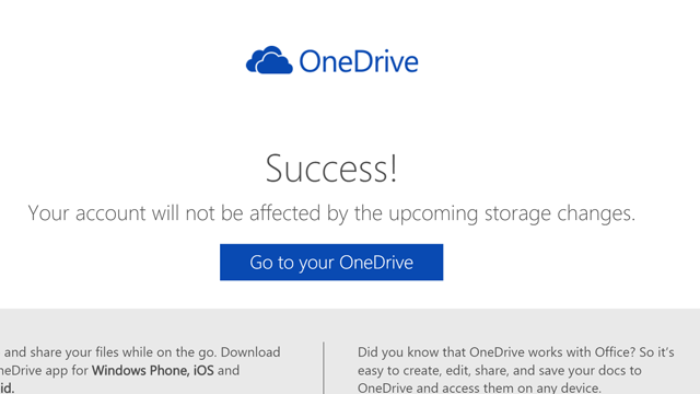 OneDriveて手続きその2