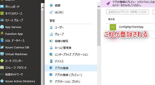 Azure AD上のアプリに権限を付与する