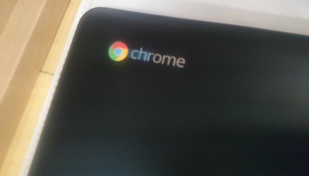 Chromeの刻印